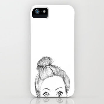 """Wendy"" by Brokenmindless.tumblr iPhone Case by Ian Layne 