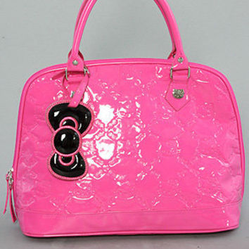 The Hello Kitty Little Shiny Patent Bag in Pink by Loungefly
