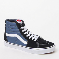 Vans SK8-Hi Navy Shoes at PacSun.com