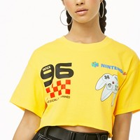 Nintendo 64 Cropped Graphic Tee