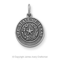 State Seal of Texas Charm from James Avery