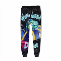 Unisex Casual Rick and Morty Jogger Pants 3D Print Mens Novelty Full Length Pencil Pant Womens Cool Cosplay Trousers Streetwear