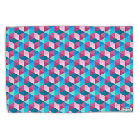 Crystalized Mosaic AOP Standard Size Polyester Pillow Case All Over Print