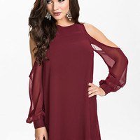 Open Sleeve Shift Dress, NLY One