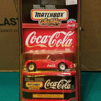 1953 JAGUAR XJ120 MATCHBOX COLLECTIBLES COCA COLA