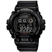 Casio G-Shock Mens Classic - Black Case, Dial and Strap - Flash Alert & Buzzer