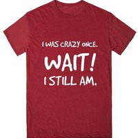 CRAZY ONCE