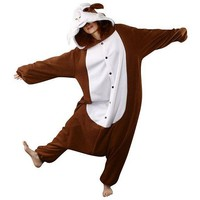 BCozy Guinea Pig Costume - Adult (Brown)