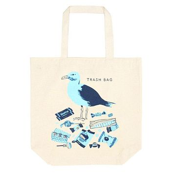 Trash Bag Oversized Tote Bag