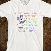 Walt Disney quote & Mickey - kate the great