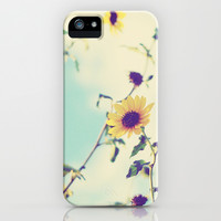 Sunflowers iPhone & iPod Case by Libertad Leal Photography