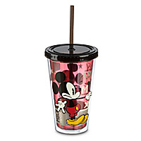 Mickey Mouse Tumbler with Straw