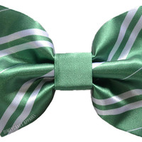 Slytherin Hair Bow