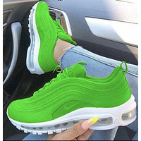 Nike Air Max 97 Fashion Couple Color Block Casual Air Cushion Running Sneakers