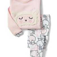 Cozy sheep sleep set | Gap