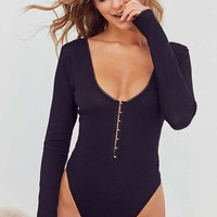 Out From Under Cara Hook + Eye Bodysuit | Urban Outfitters