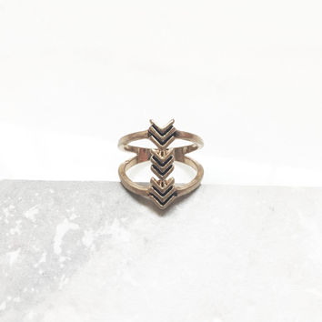 Triple Arrow Ring