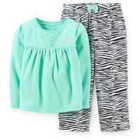 2-Piece Microfleece PJs