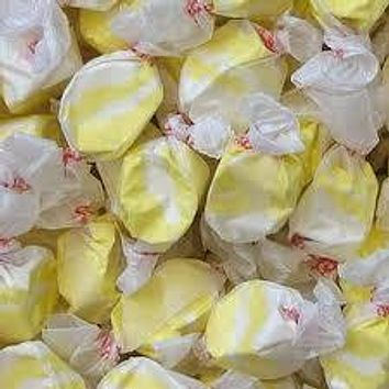 Buttered Popcorn Salt Water Taffy 1/2 lb Bulk