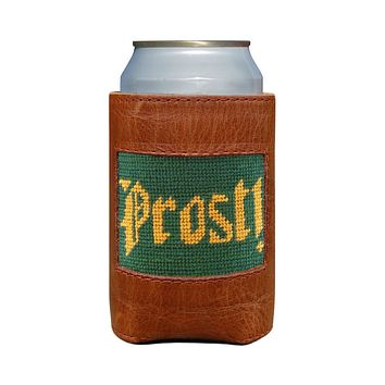 Prost Needlepoint Can Cooler by Smathers & Branson