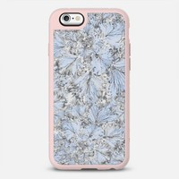blue flowers iPhone 6 case by Julia Grifol Diseñadora Modas-grafica | Casetify