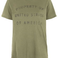 Property Of USA Tee By Project Social T