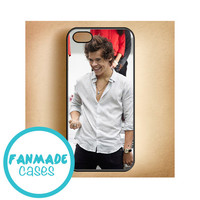 Harry Styles from BSE iPhone 4/4s 5/5s/5c & iPod 4/5 Rubber Case