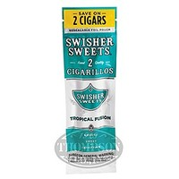 Swisher Sweets Tropical Fusion Cigarillo 60 Count