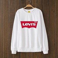 Levis Fashion Print Top Sweater Pullover