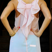 Love Me More Blouse: Blush Chiffon | Hope's