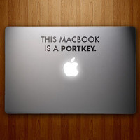 This MacBook is a Portkey