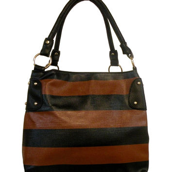 Striped Medium Tote