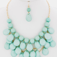 Big Bold Statement Set -- Mint -- Sassy Deal