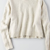 AEO Women's Crop Turtleneck Sweater