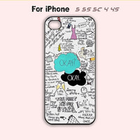 The Fault in Our Stars,Okay,iPhone 5 Case,iPhone 5C Case,iPhone 5S Case, Phone case,iPhone 4 Case, iPhone 4S Case