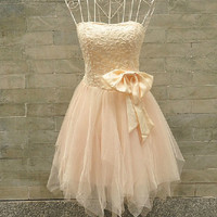 Wrapped Chest Chiffon Short White Pink Prom/Evening/Party/Homecoming/Bridesmaid/Evening Gown/Cocktail/Formal Dress For Women