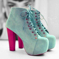 Spring Shoes: a Rainbow of Shaded Shoes