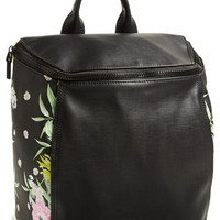 French Connection 'Prim Lady' Faux Leather Backpack