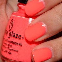 China Glaze Nail Polish Lacquer (80946-Flip Flop Fantasy) Poolside
