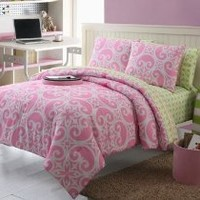 VCNY Kennedy Twin Extra Long 9-Piece Comforter Set