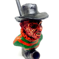 Resin Pipe - Freddy Krueger