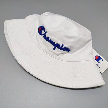 Champion Fashion New Embroidery Letter Women Men Sunscreen Leisure Cap Hat Red