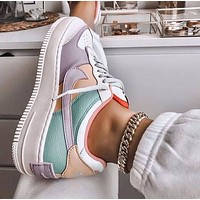 Nike WMNS Air Force 1 Shadow Tropical Twist Low Fashion Women Casual Sport Running Shoes Sneakers