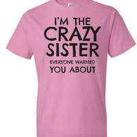 Sister Gifts | Gifts For Sisters | Big Sister Shirts | Unique Gifts For Sisters | Family Reunion Tees | Women's T-shirts | Graphic T-shirts