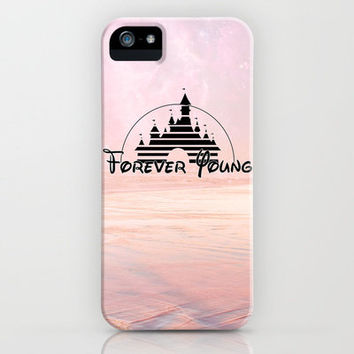Disney forever young iPhone Case by Tilly   Society6