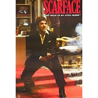 Scarface Little Friend Al Pacino XL Giant Poster 40x60