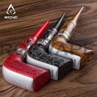 Rofvape Witcher Stalin 40W E-Pipe Starter kit Huge Vapor Wooden Design E pipe Electronic Hookah Vape Pen  Electronic Cigarette
