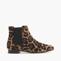 J.Crew Womens Collection Calf Hair Chelsea Boots