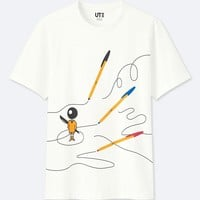 THE BRANDS SHORT-SLEEVE GRAPHIC T-SHIRT (BIC)