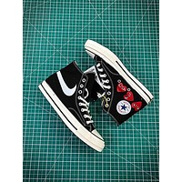 Comme Des Garcons X Converse Chuck Taylor All Star Cdg 1970s Canvas Shoes-1